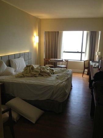 Hotel Gran Marquise : quarto com vista frontal mar