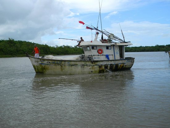 Raposa: Passeio de barco