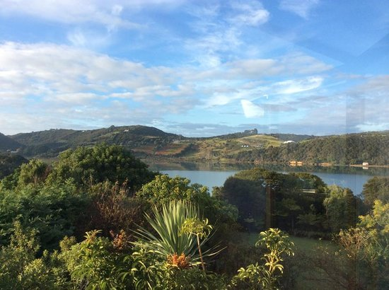 Le Chalet Waiheke Apartments: scenery from room
