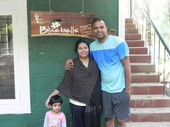 Blue Bells Valley Resort: Vth Family!!