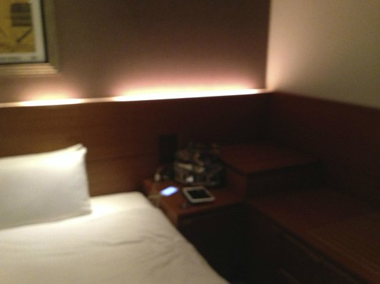 Shibuya Granbell Hotel: Part of the bedroom