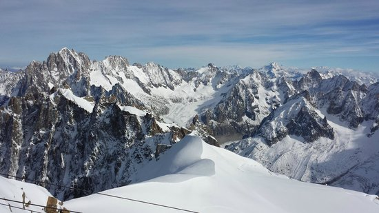 Mont Blanc : vista lá de cima, lindo!