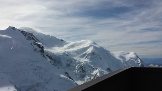 Mont Blanc: vista lá de cima!  a 3800 m do nível do mar