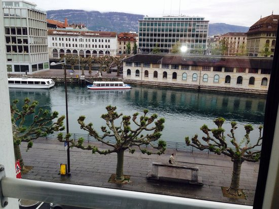 Mandarin Oriental, Geneva : A fabulous view from my room