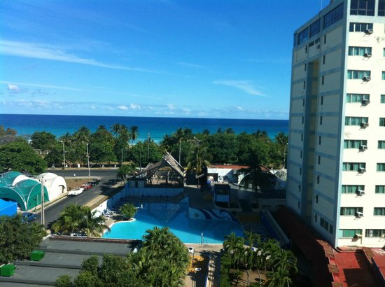 Hotel Gran Caribe Sunbeach: most beautiful view from room- floor 7