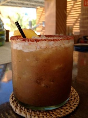 Rancho Pescadero: tamarind margarita- yum!