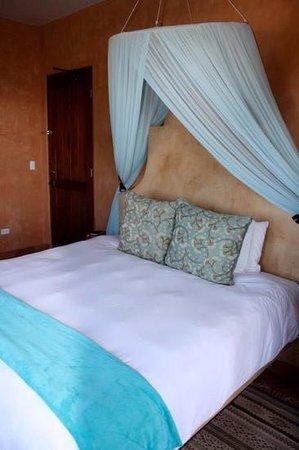Rancho Pescadero: the bed!