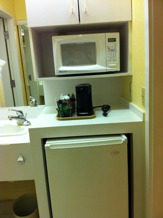 Ramada Kissimmee Gateway: Appliances