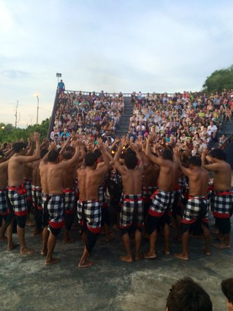 Kecak and Fire Dance : Kecak dance