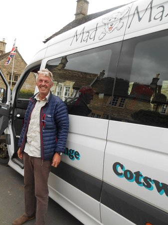 Mad Max Tours : Tim- our amazing tour guide in Castle Combe