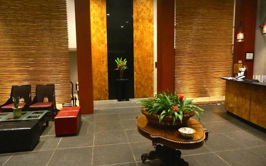 Hotel Grano de Oro San Jose: The elegant lobby