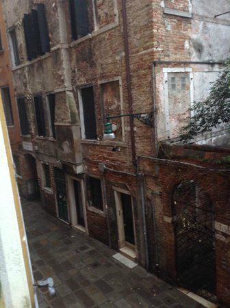 Hotel Canaletto : Vista desde la habitacion