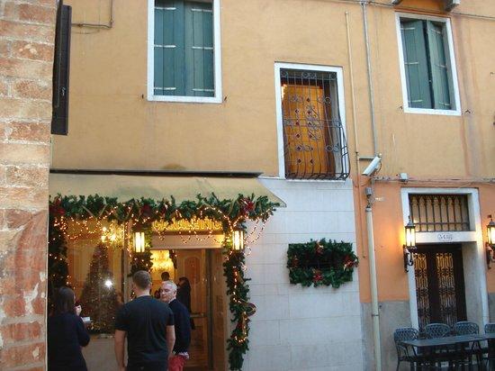 Hotel Canaletto : Entrada del Hotel