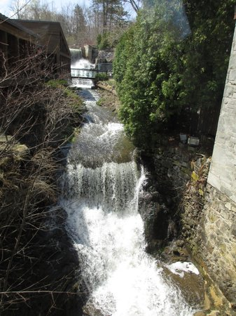 The Ancaster Mill : great waterfalls in the spring!