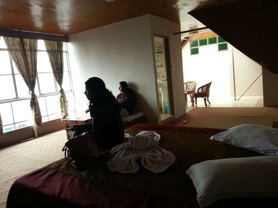 Bamboo Grove Retreat: This is the room at the attic