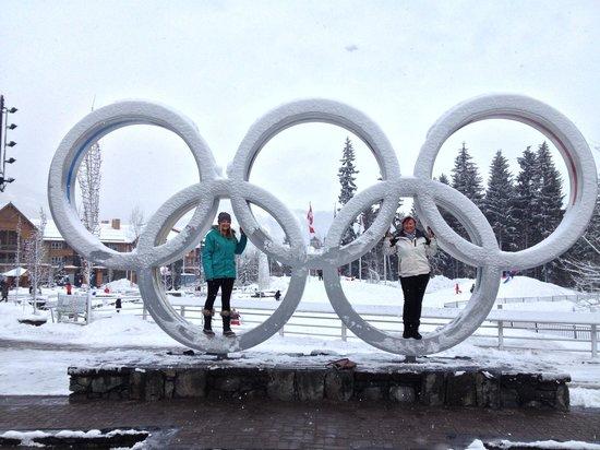 Alpenglow Lodge: Olympic plaza