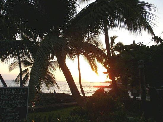 Royal Kona Resort: サンセット
