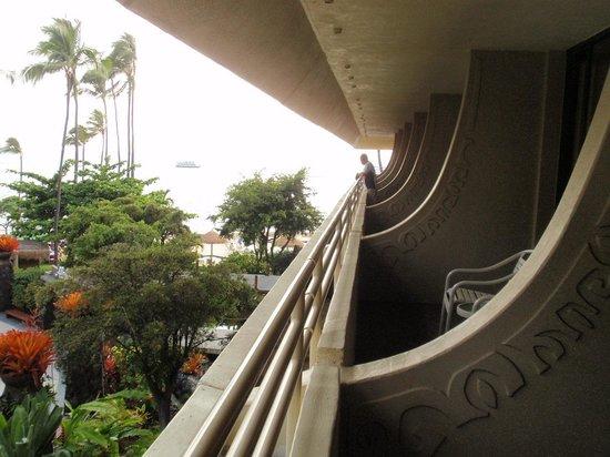 Royal Kona Resort: バルコニー