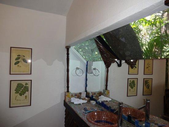 Corteza Amarilla Lodge: bathroom window