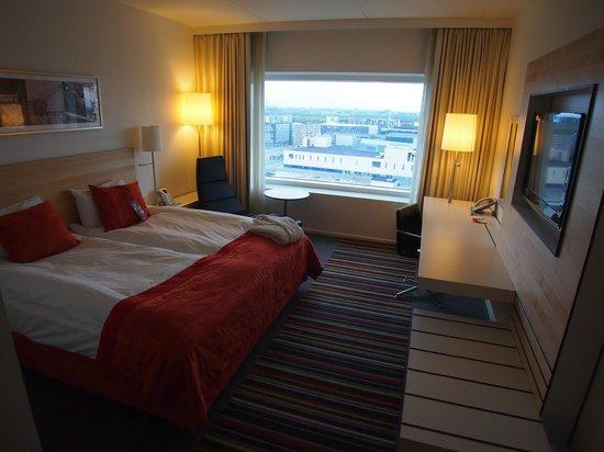 Crowne Plaza Copenhagen Towers : Room overview