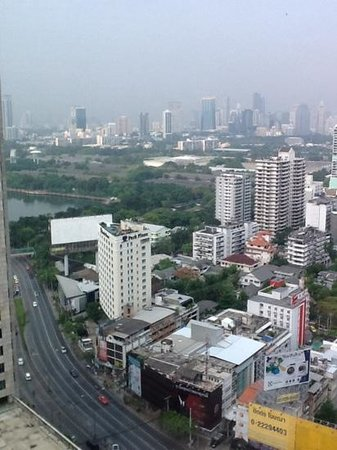 The Continent Hotel Bangkok by Compass Hospitality : view