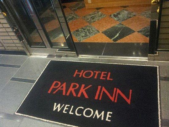 Hotel Park Inn Shinjuku : Entrance