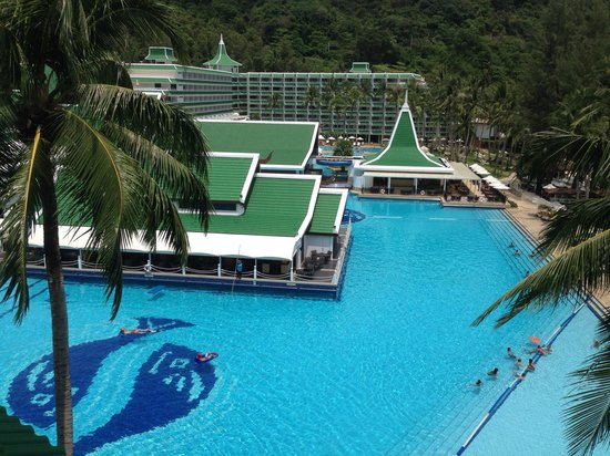 Le Meridien Phuket Beach Resort : Вид из номера
