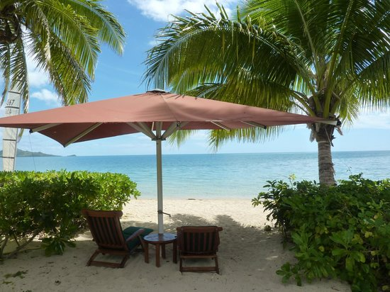 Nukubati Private Island : our own private beach site
