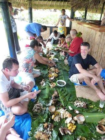 Nukubati Private Island : Fijian fish feast