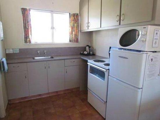 Alpine Motel Wanaka and Apartments : kitchen facilities