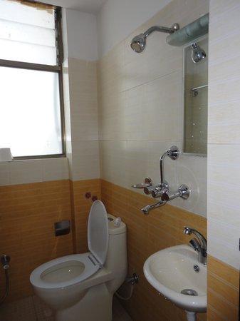 Kathmandu Home Hotel: BathroomShower