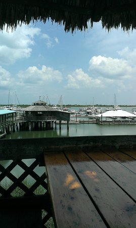 The Conch House Restaurant: overlooking the bay for lunch