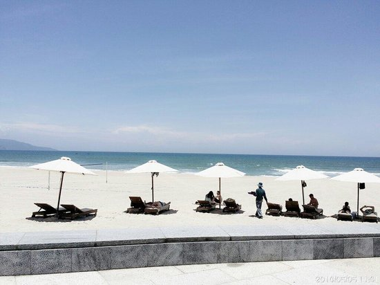 Hyatt Regency Danang Resort & Spa: 酒店私家沙滩