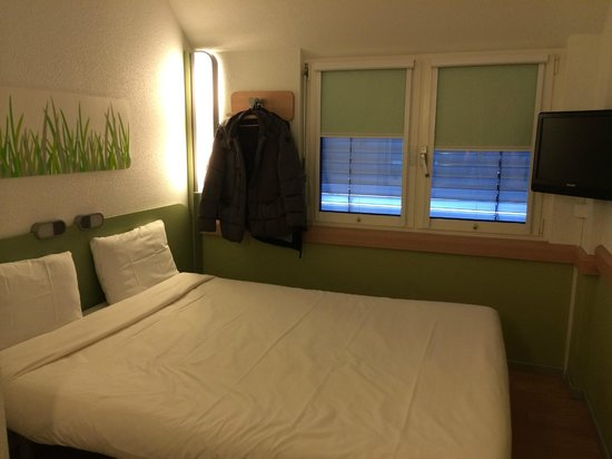 ibis budget Luzern City: The concave bed
