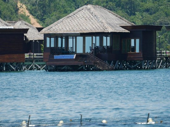 Gayana Marine Resort: Villa 84, maybe the one with best view