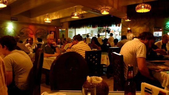 La Chaya Maya: Restaurant Interior