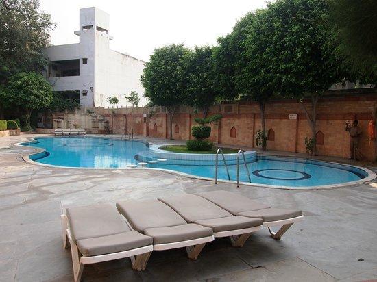 Mansingh Palace, Agra: Pool