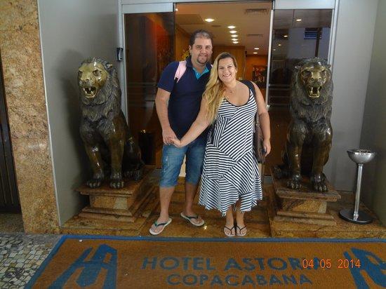 Hotel Astoria Copacabana: RECEPÇÃO DO ASTÓRIA COPACABANA