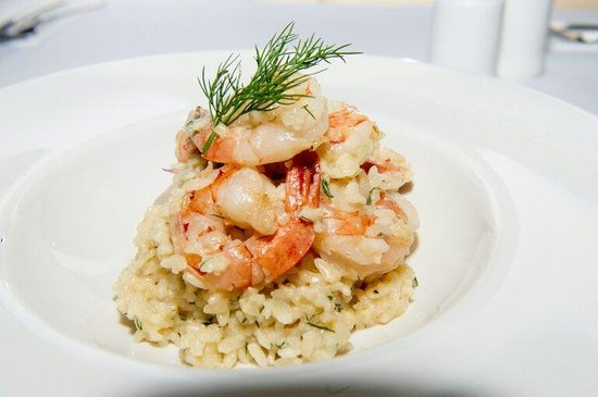 Bistro 82 at Easts Woy Woy Leagues Club: Prawn risotto