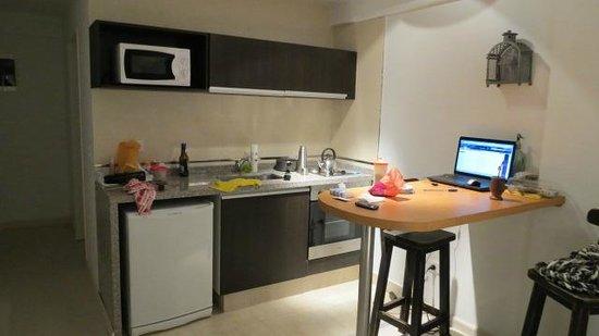 Miliño Buenos Aires Apart Hotel: Cocina