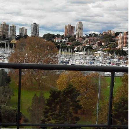Vibe Hotel Rushcutters Bay Sydney: From the pool deck