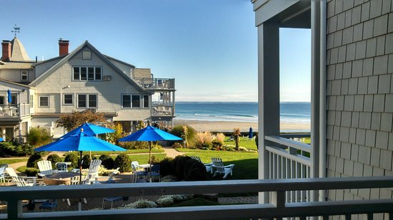 September morning in Maine at the Beachmere Inn