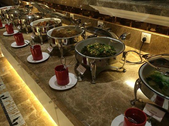 Ramada Yichang : Teil des sehr guten Frühstück-Buffet