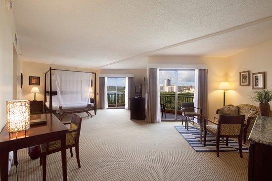 Holiday Resort & Spa Guam: Junior Suite with Partial Ocean Views