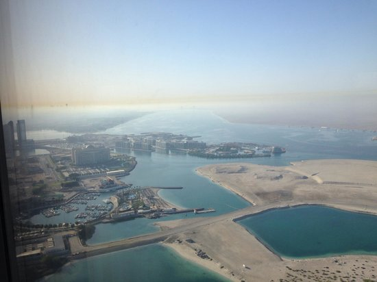 Jumeirah at Etihad Towers: View from room