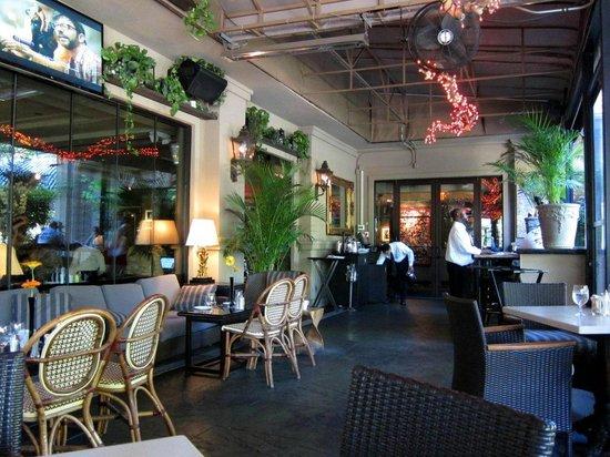 Hotel ZaZa Houston: Dining Terrace