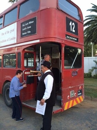 Lord Milner Hotel: the 5min Bus tour