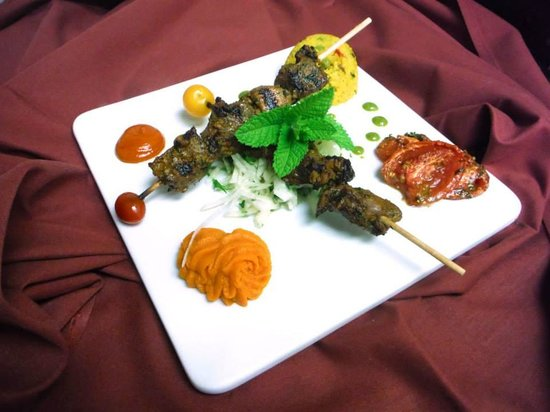 Tasty kebab picture of argana moroccan restaurant las for Argana moroccan cuisine