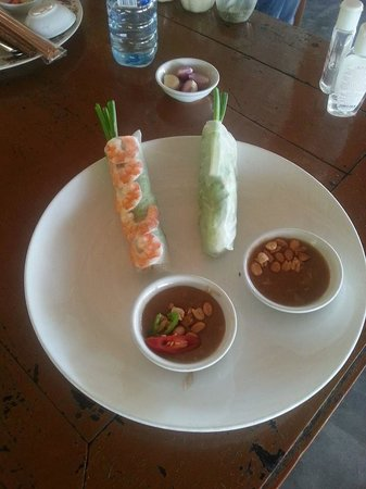 Thuan Tinh Island: And if you don't like certain foods let them know in advance and they can adapt for you