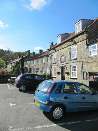 The Plough Inn: View from the car park